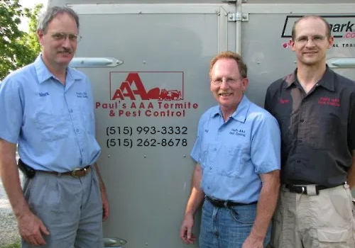 contact paul's aaa pest control des moines ia